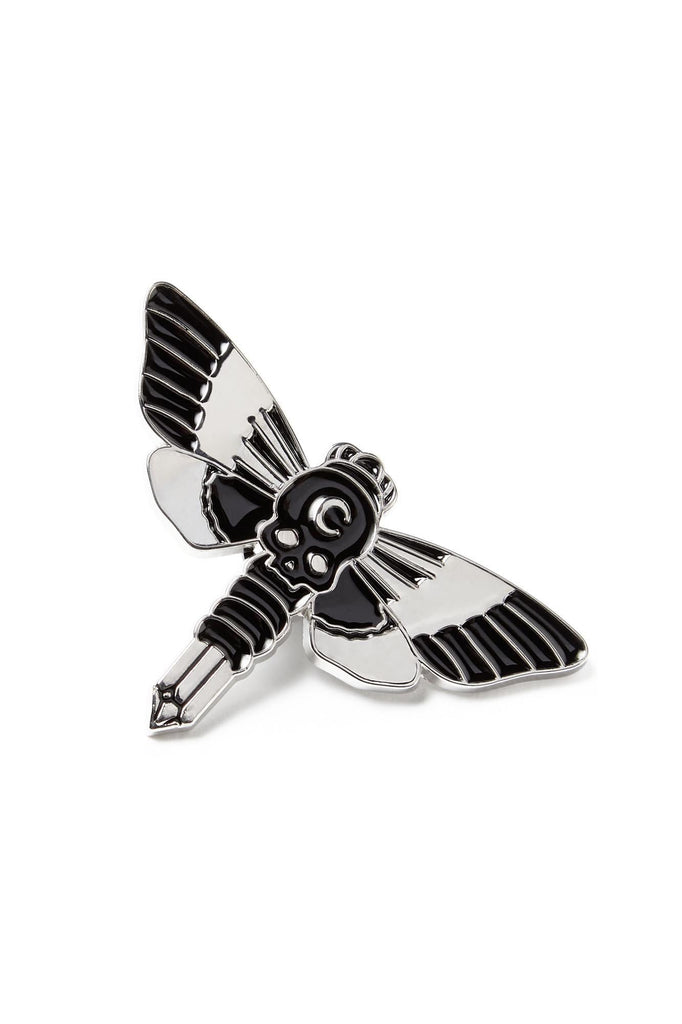 Moth Crystal Enamel Pin [B]