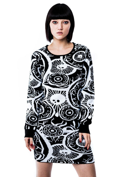 My Eye Knit Dress [B]