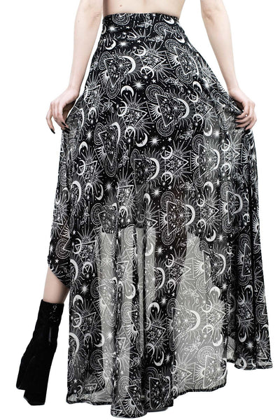 New Moon Maxi Skirt [B]
