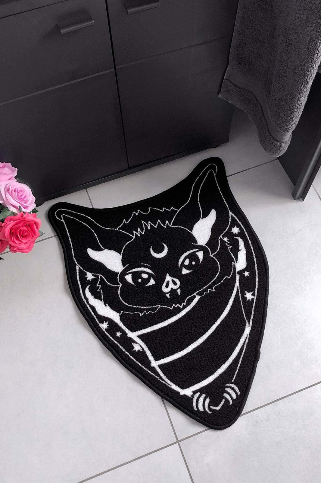 Nocturnal Bathroom Rug