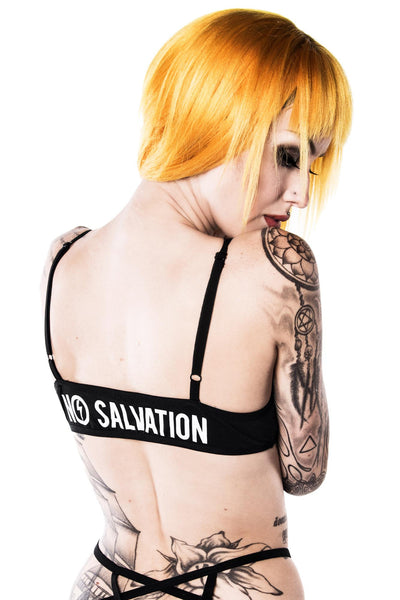 No Salvation Bralet [B]
