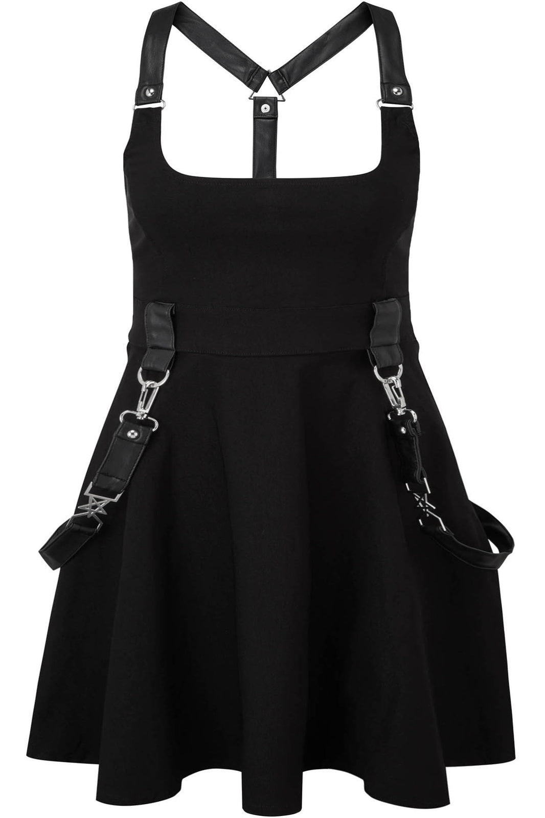 Oh My Ghoul Skater Dress [PLUS]