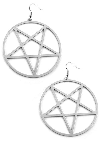 Pentagram Earrings [S]