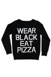 Pizza Knit Sweater [B]
