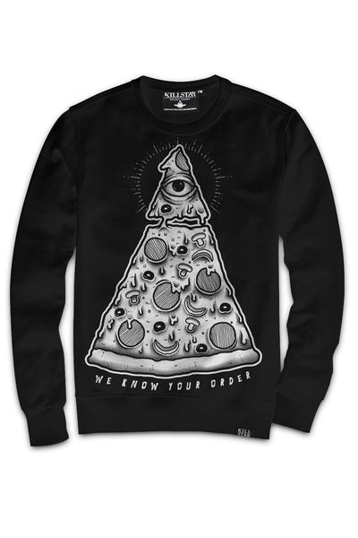 Pizza Order Sweatshirt [B]