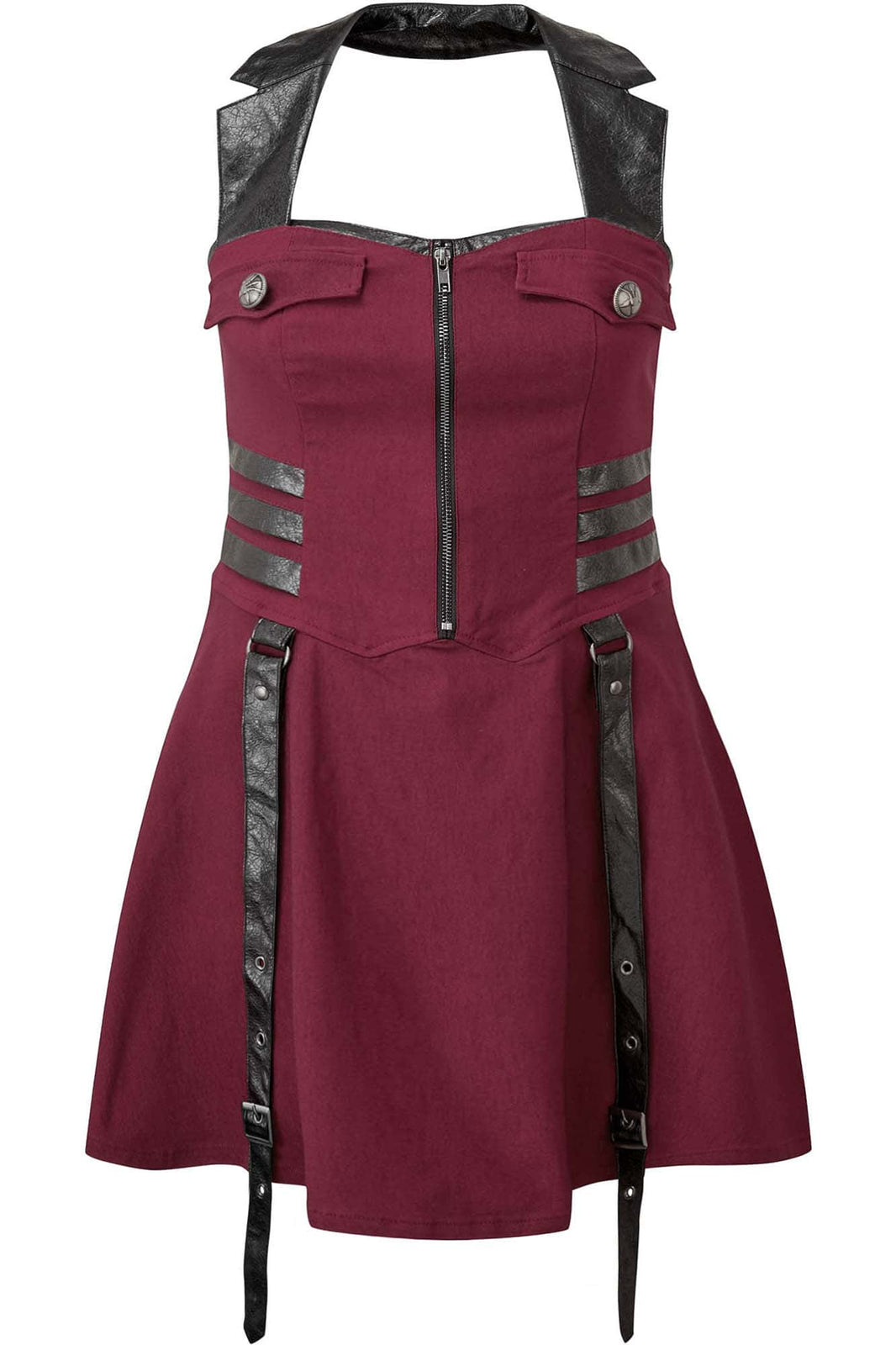 Psy-Ops Halter Dress [BLOOD] [PLUS]