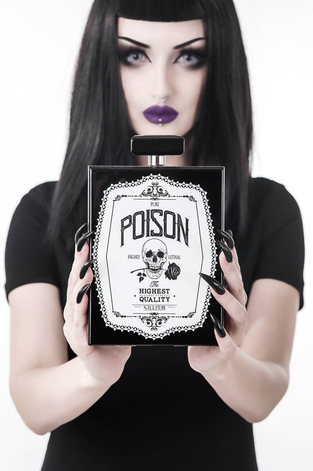 Pure Poison Clutch Bag
