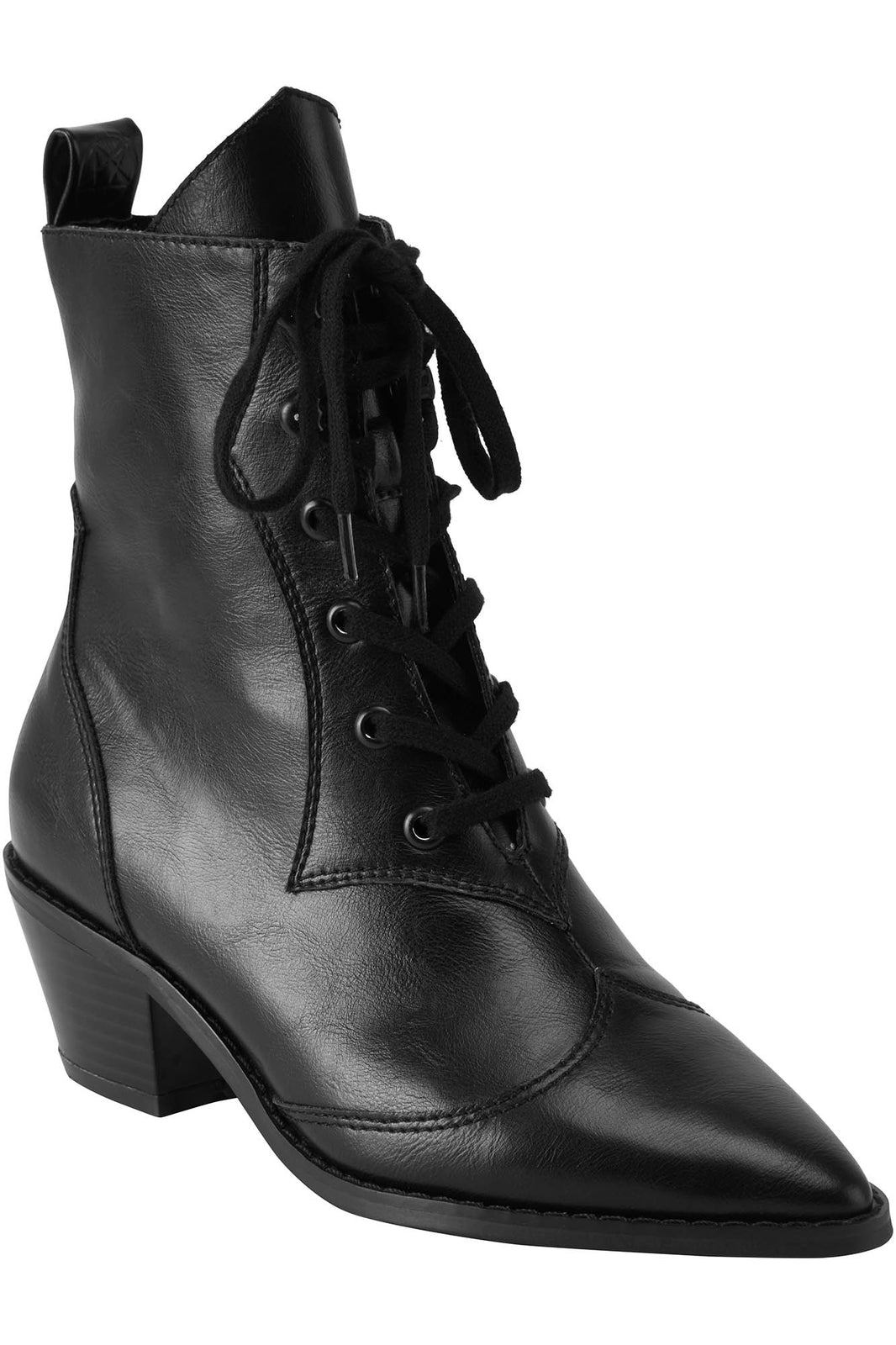 Raven Pointed-Toe Bootie