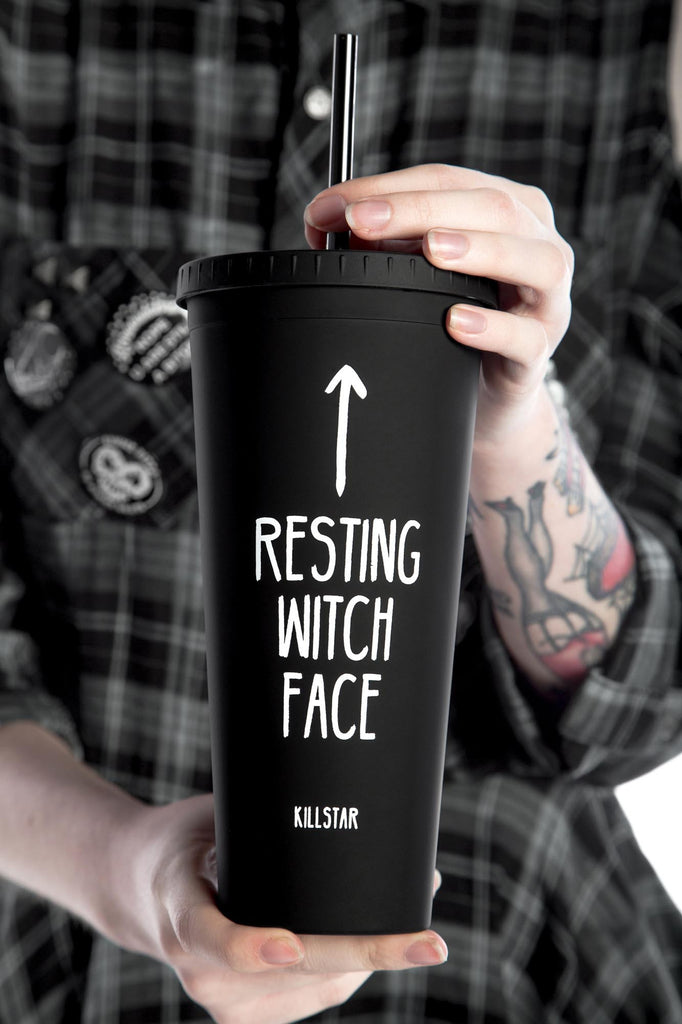 Resting Witch Face Cold Brew Cup [B]