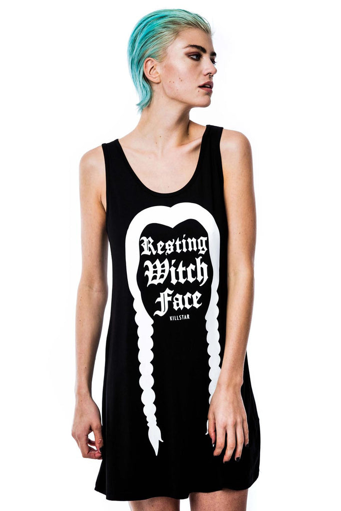 Resting Witch Vest Dress [B]