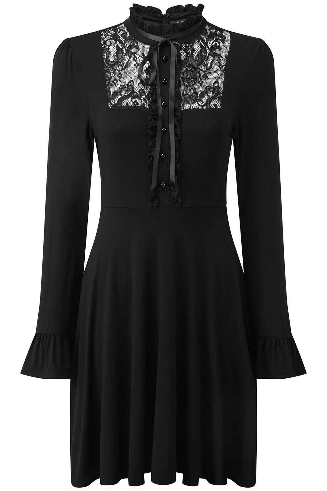 Sabrina Ruffle Dress