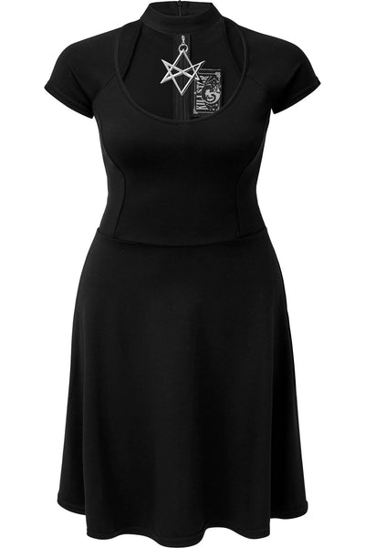 Sacred Sixx Skater Dress [PLUS]