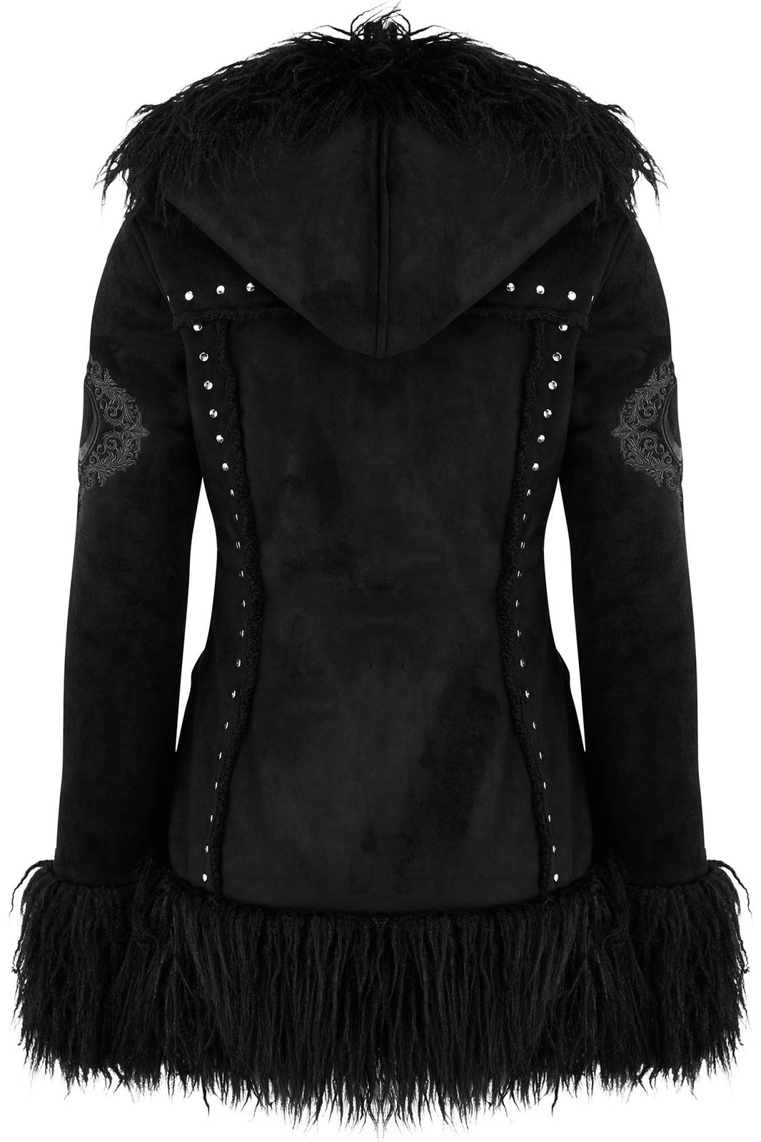 Salem City Shearling Coat
