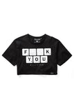 Scrabble Crop Top [B]