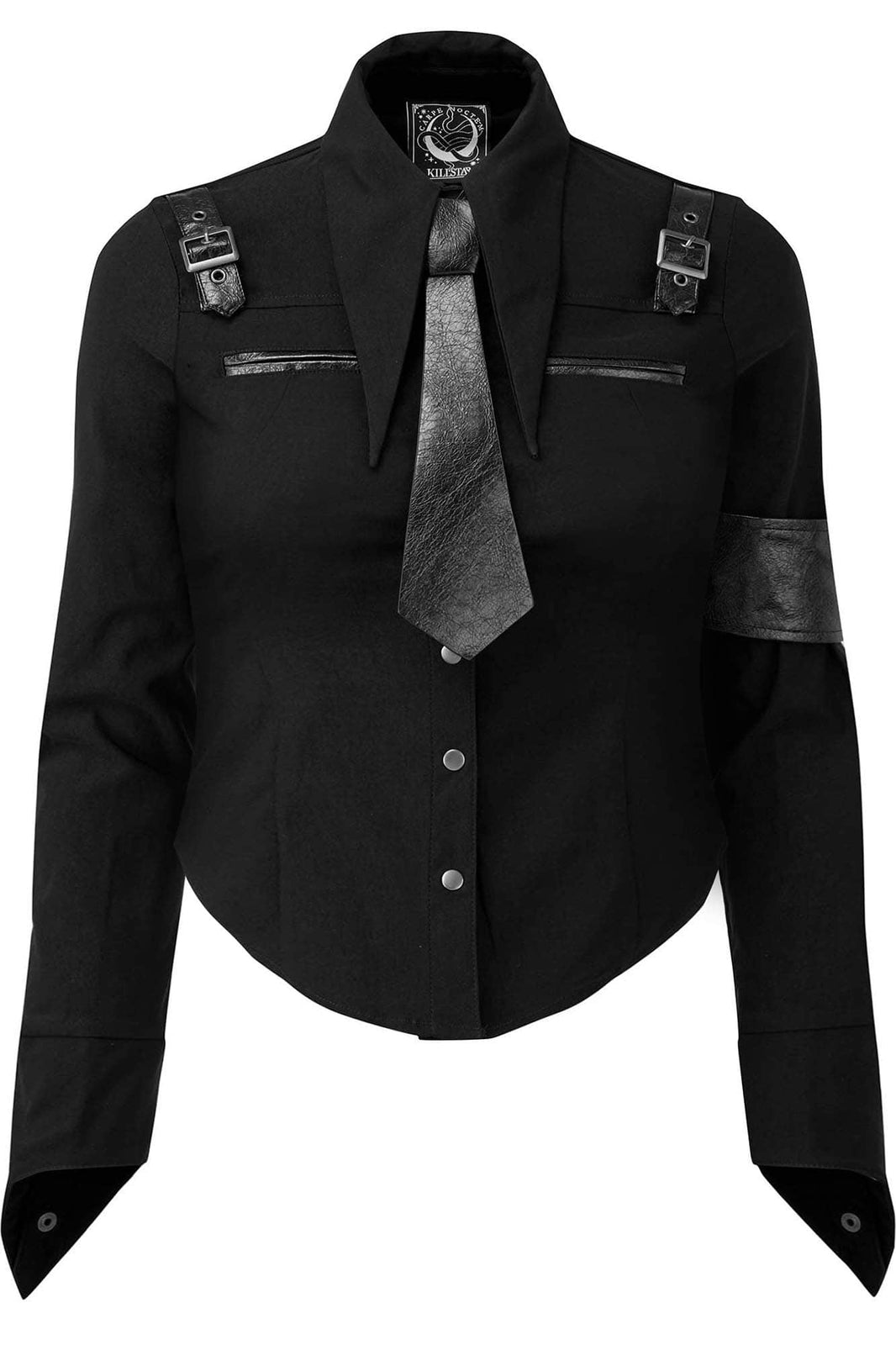Secret Mission Button-Up Shirt [B] [PLUS]
