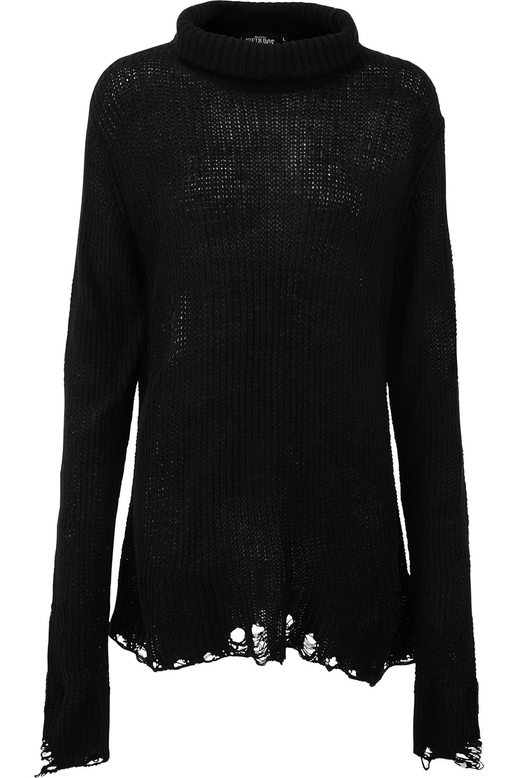 Seven Knit Sweater [BLACK]