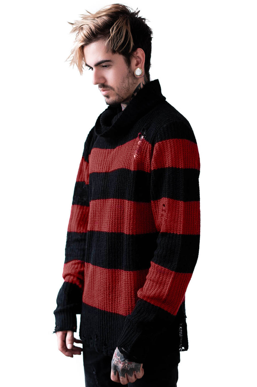 Seven Knit Sweater [BLOOD]