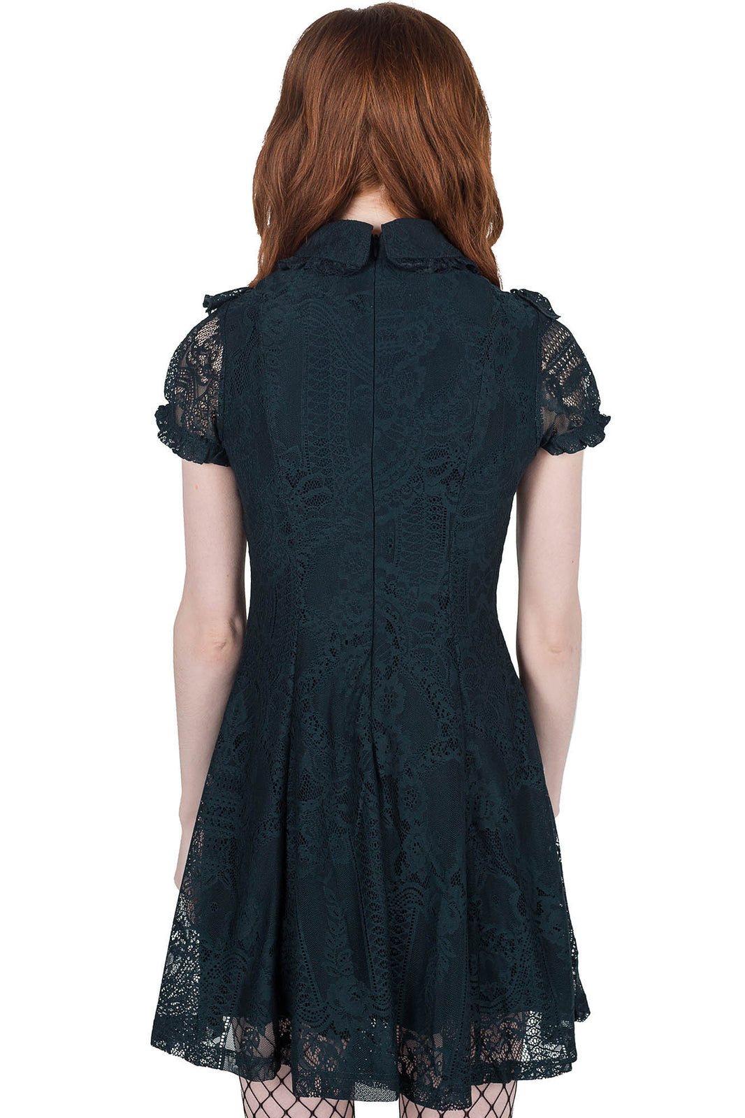 She's Laced Lace Dress [EMERALD]
