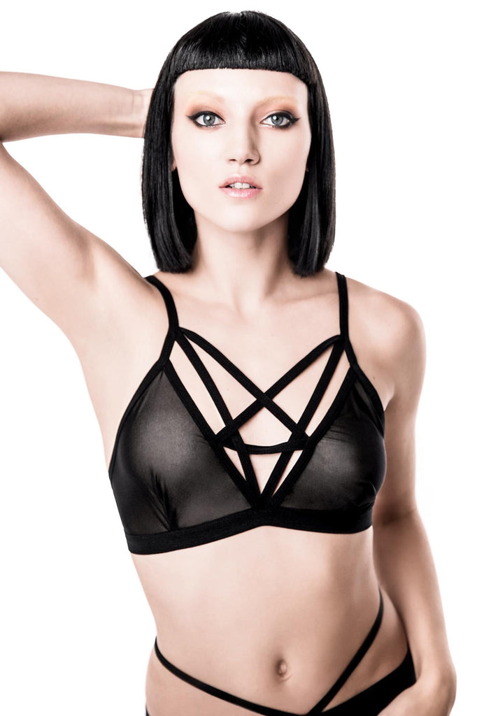 Sinner 2 Hot 4 U Mesh Bralet [B]