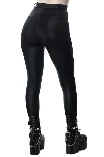 Sin With Me Disco Leggings