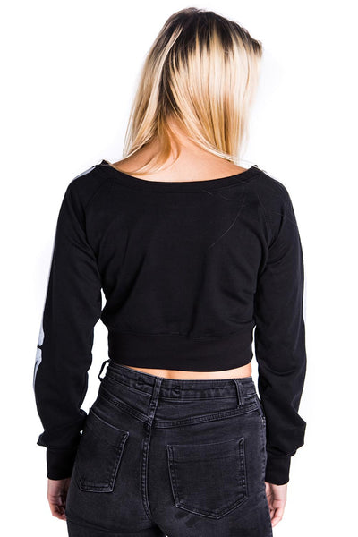 Skeletor Crop Sweater [B]