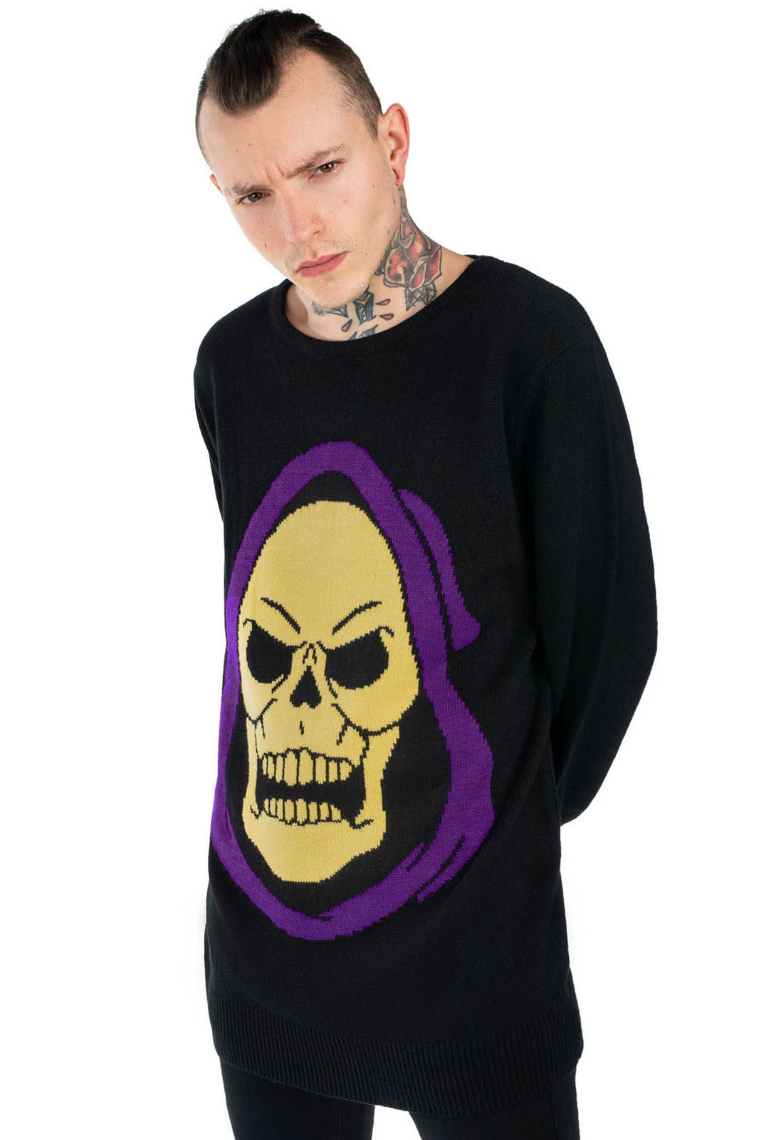 Skeletor Knit Sweater