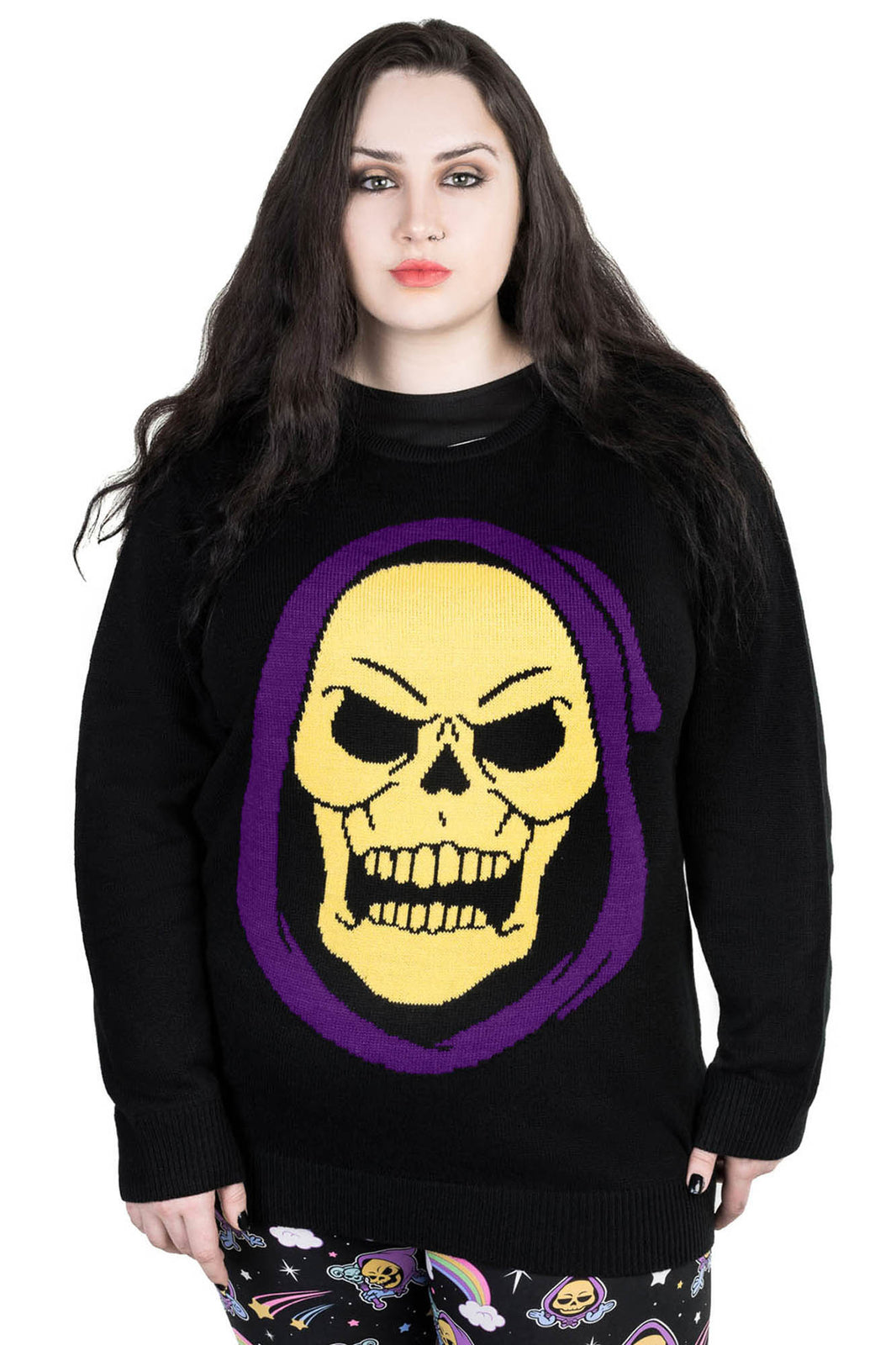 Skeletor Knit Sweater [PLUS]