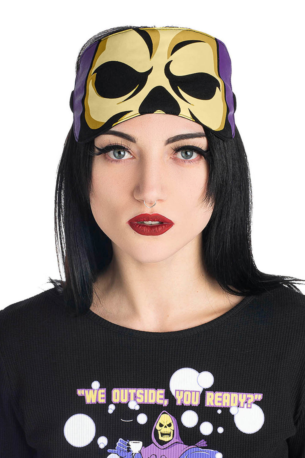 Skeletor Sleep Mask