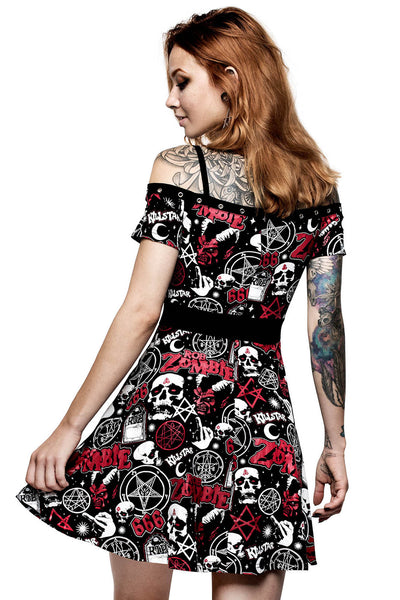 Spookshow Bardot Dress
