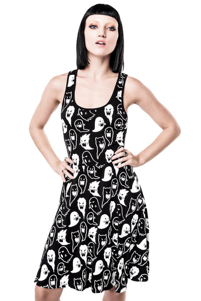 Spooky Haunting Skater Dress [B]
