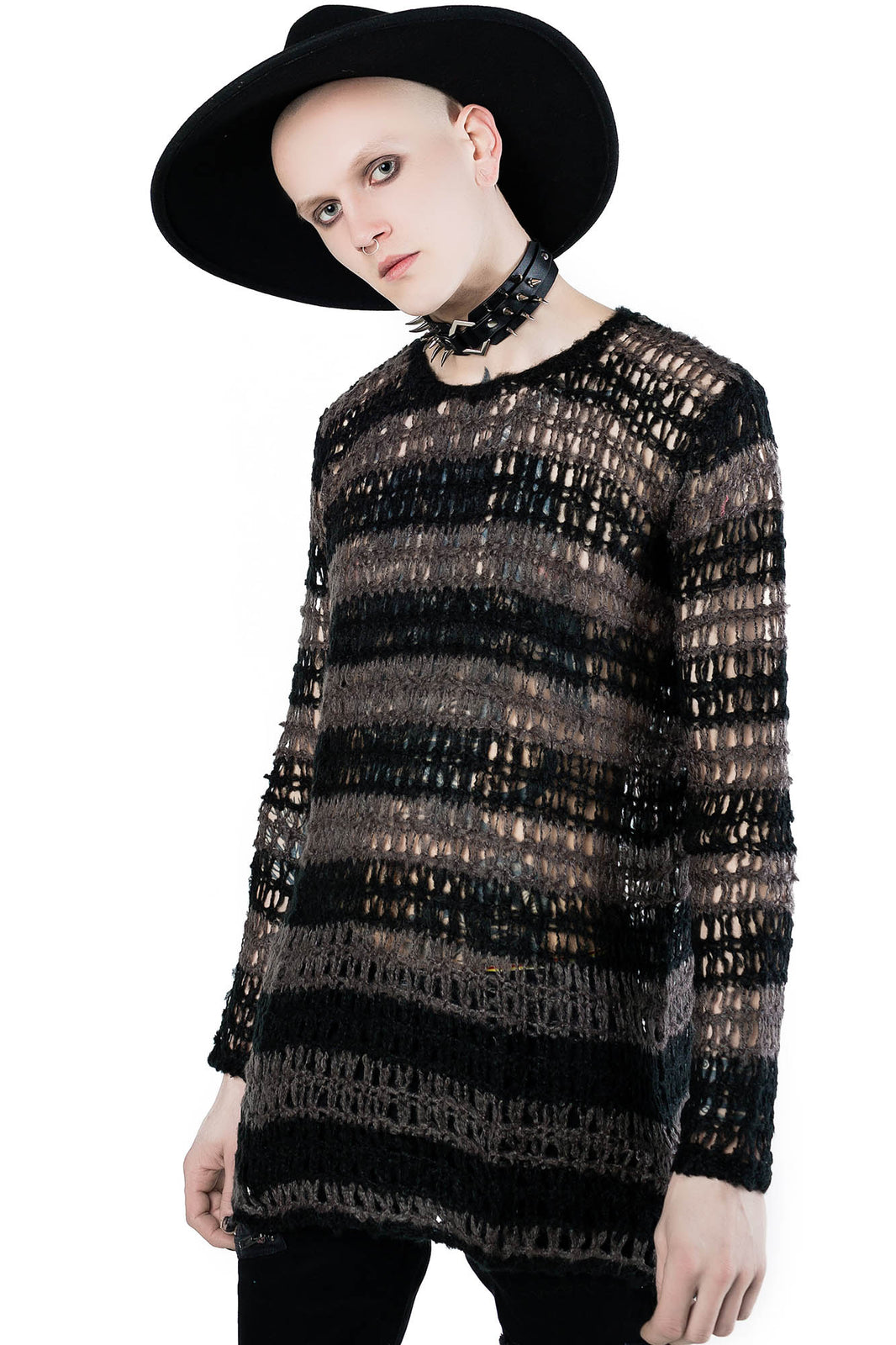 Strange Daze Faux-Mohair Sweater