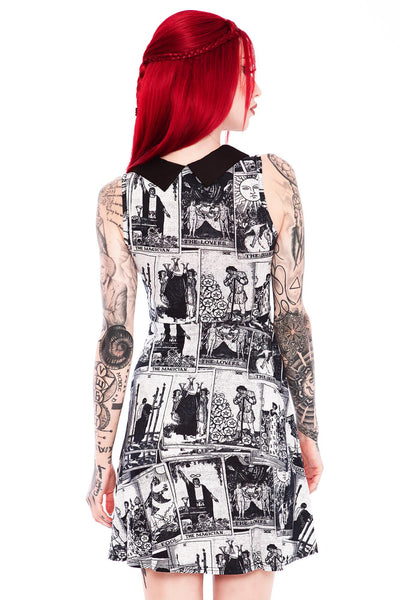 Tarot Arcana Skater Dress [B]