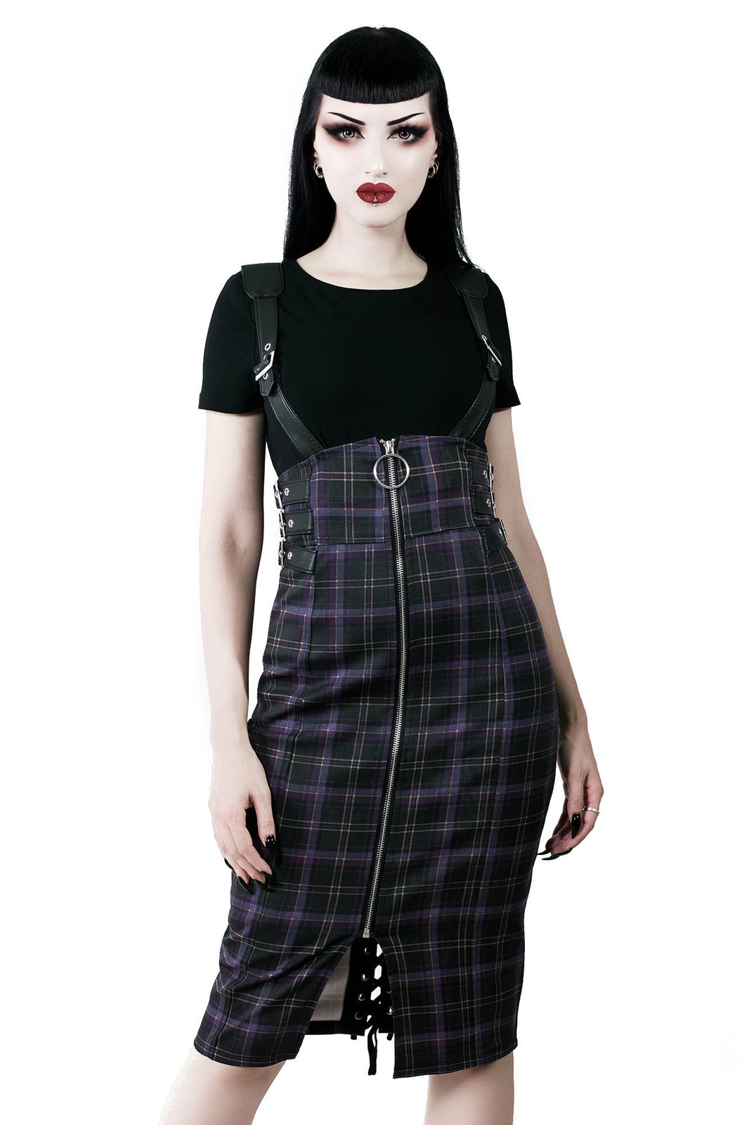 Tempest Pencil Skirt [TARTAN]