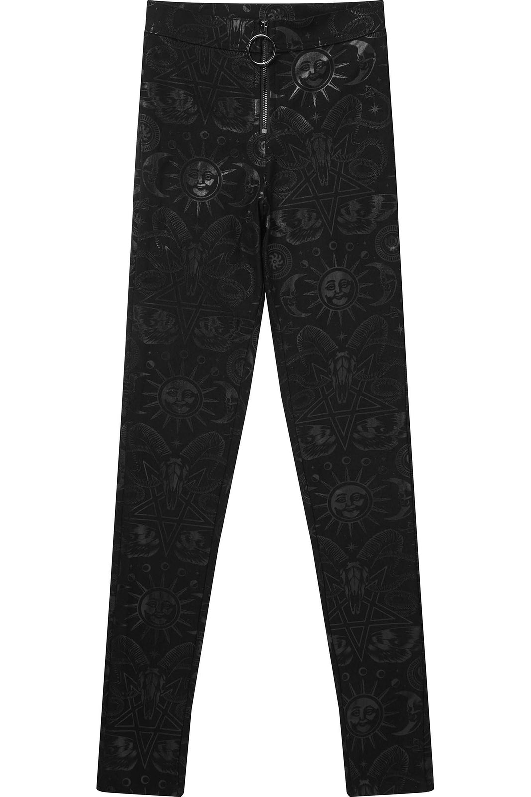 Temple High Waist Trousers