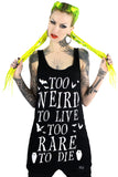 Too Weird To Live Vest Dress [B]
