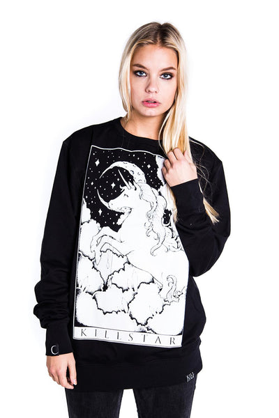 Unicorn Tarot Sweatshirt [B]