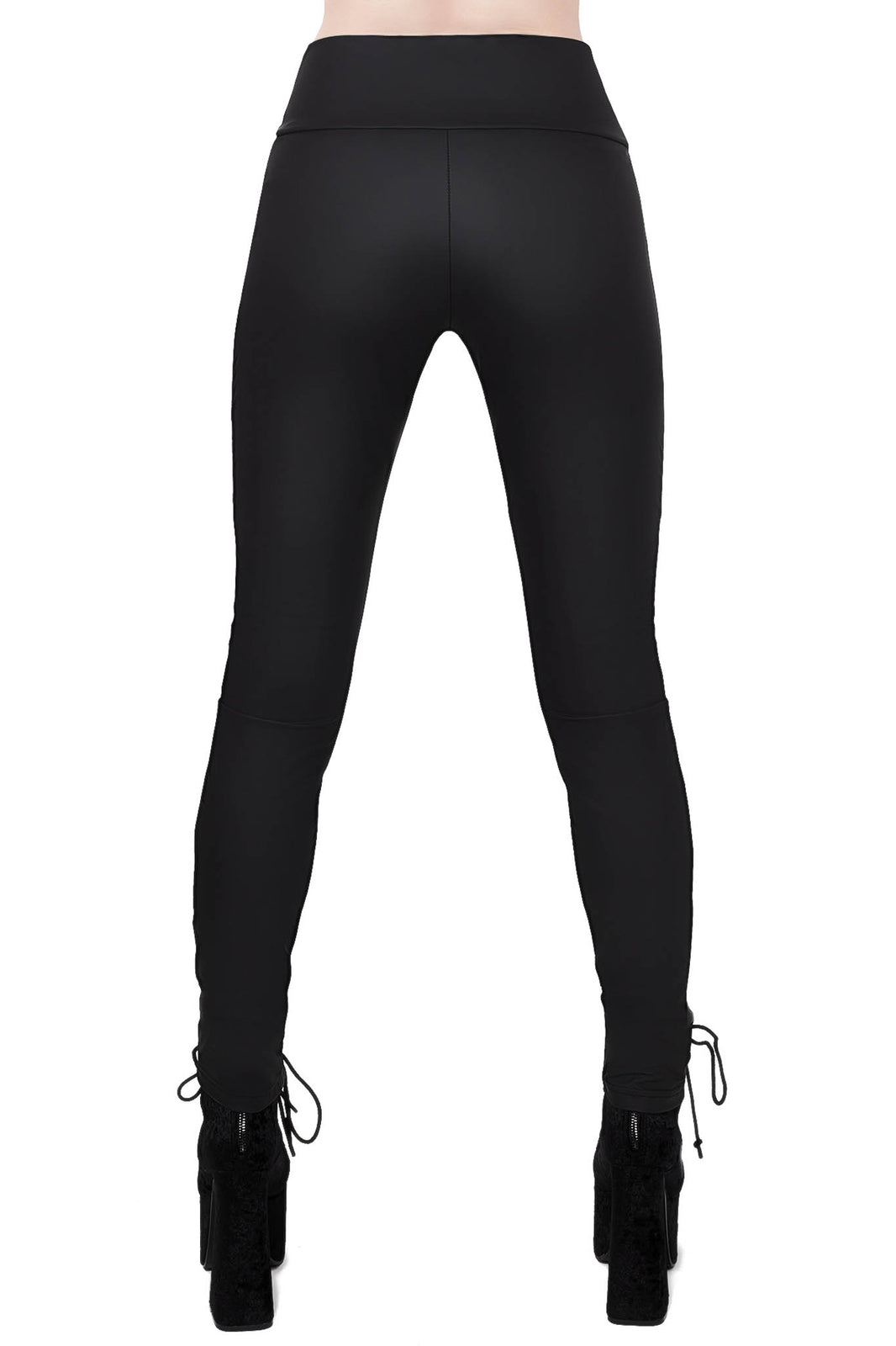 Viper Lace-Up leggings [B]