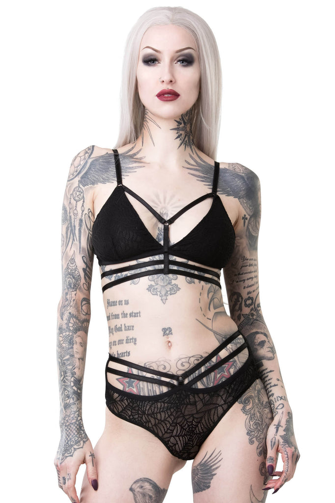 Weeping Widow Bralet [B]