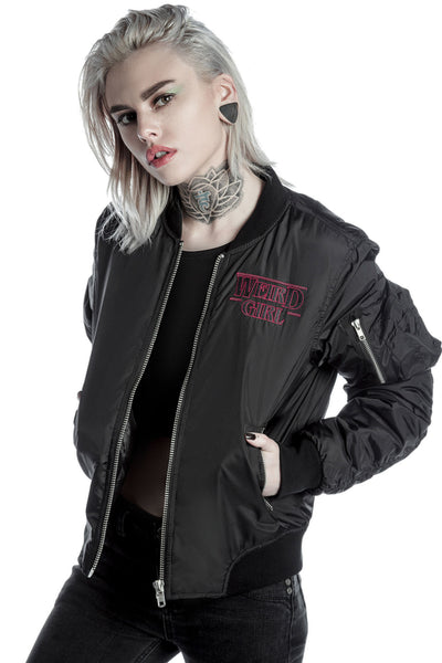 Weird Girl MA1 Bomber Jacket [B]