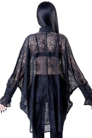 Willow Lace Shirt Dress