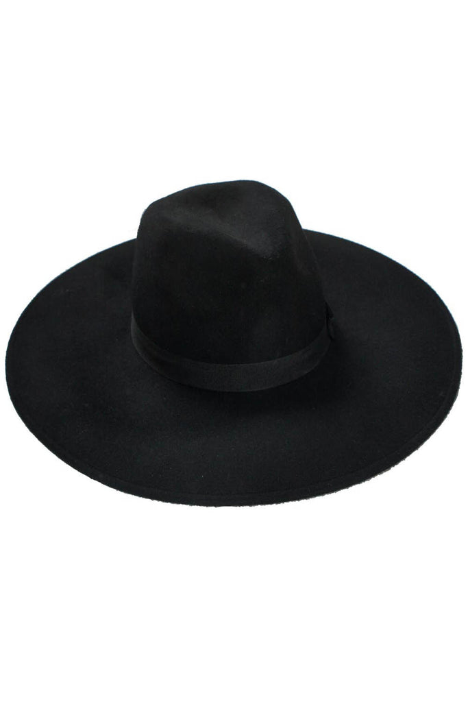 Black Witch Brim Hat from KILLSTAR