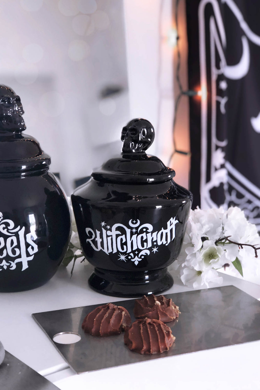 Witchcraft Ceramic Jar