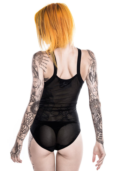 Witchery Hexx Mesh Bodysuit [B]