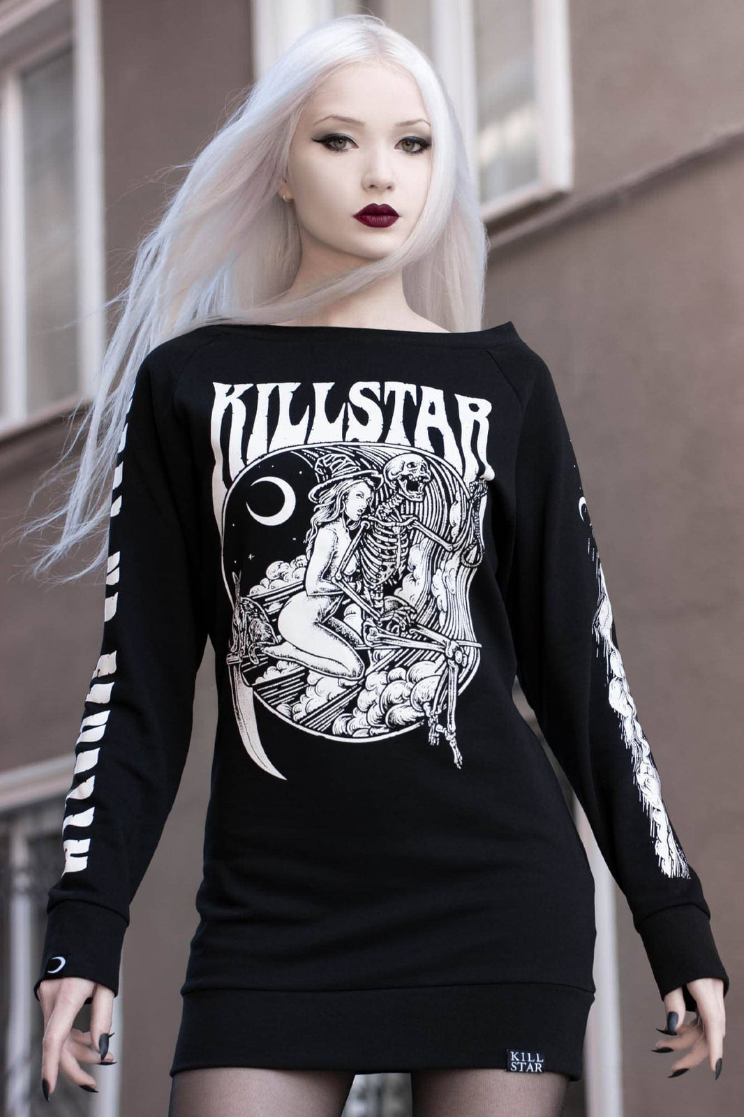 Witches On Tour Sweater Dress