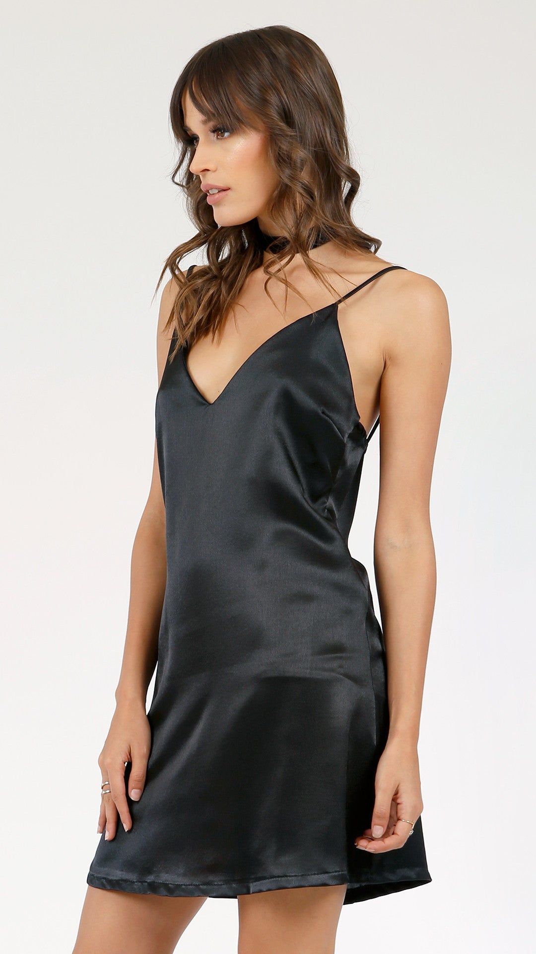 55e9c398c3f Sexy Satin Slip Dress - ANGL