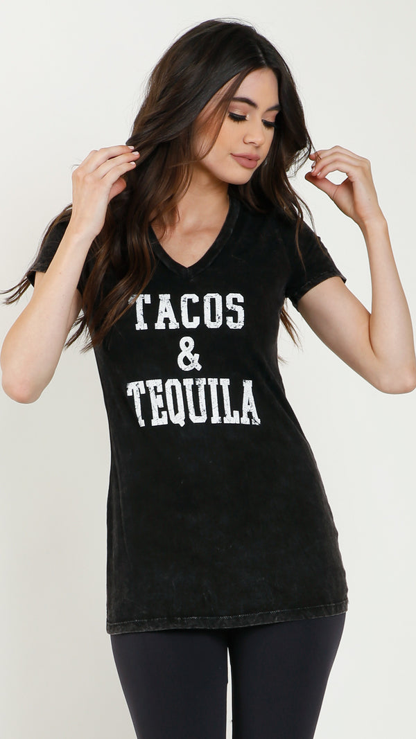 Vintage Tacos & Tequila Tee