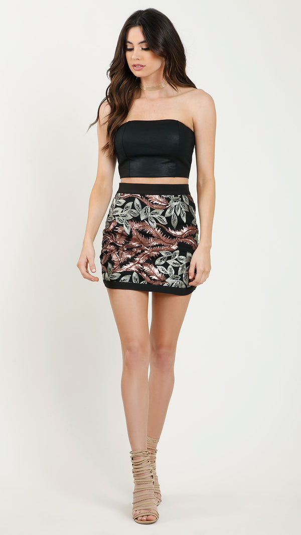 Bangkok Sequin Mini Skirt - Msky