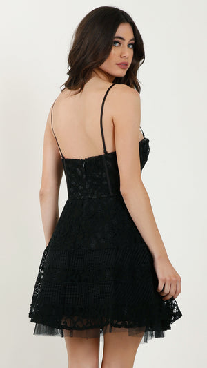 Mitsy Lace Tube Dress
