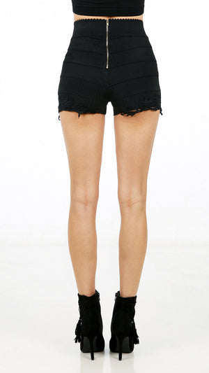 Bandage Lace Detail Shorts