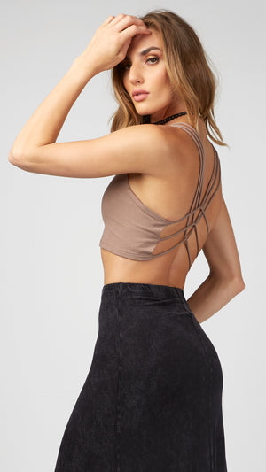 Layered Strappy Crop Top